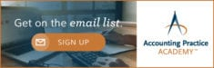 Accounting Practice Academy Email List Subscribe